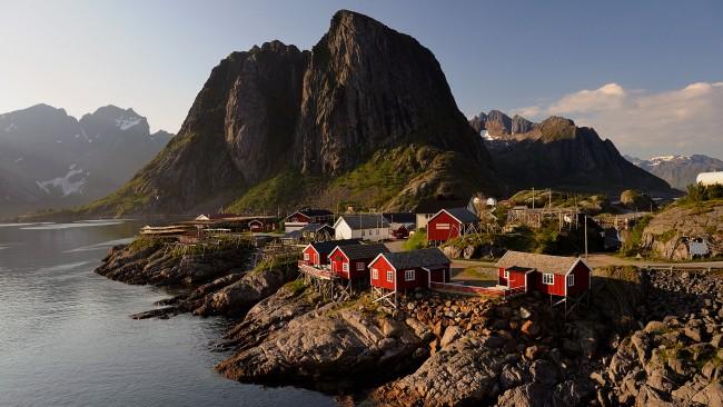 Noorwegen midden Lofoten 2008