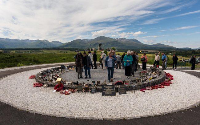 Schotland Commando memorial 2016