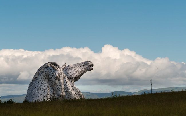 Kelpies Falkirk Schotland 2016