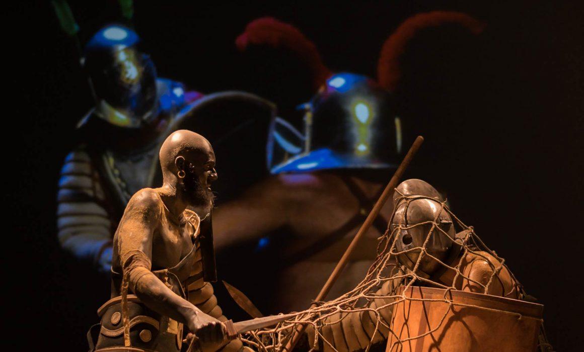 Gladiatoren in Museum Valkhof Nijmegen 2016