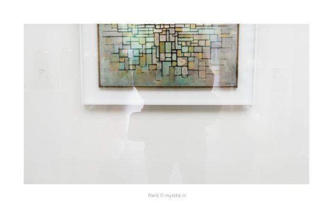 Zelfportret voor Mondriaan in Kröller Müller 2017