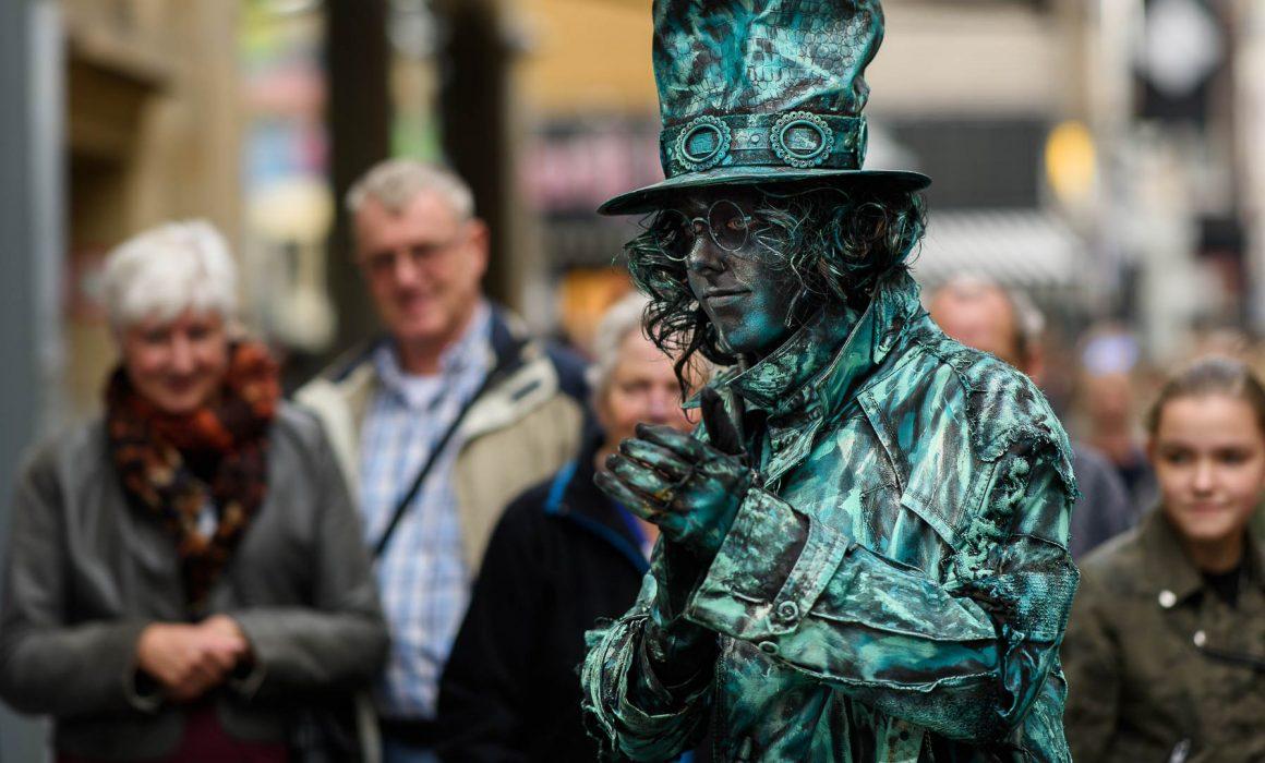 Living Statues Arnhem 2017