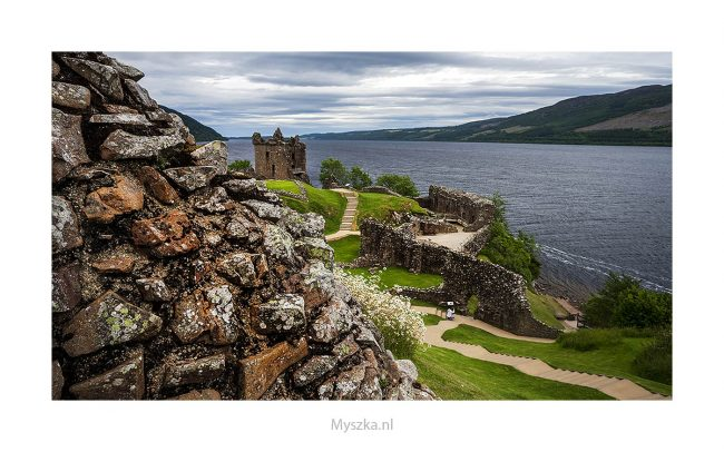Schotland, Urquhart Castle, juli 2019