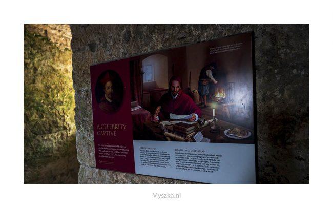 Schotland, Blackness Castle, juli 2019